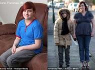 عکس العمل عجیب و مرگبار یک دختر در مقابل سرما + عکس