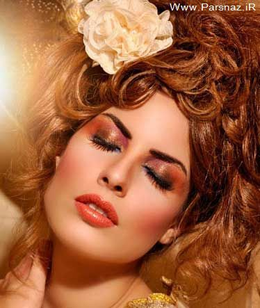 عکس های مدل موهای جدید و آرایش صورت زنانه