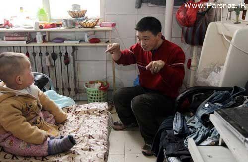 خانواده ای که به علت فقر در توالت زندگی می کنند + تصاویر