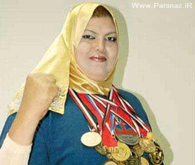 قویترین زن دنیا و قهرمان 9 دوره زیبای اندام خانم ها + عکس