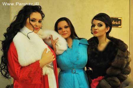 عکسهایی از مسابقه زیباترین زنان چاق روسیه در سال 2012
