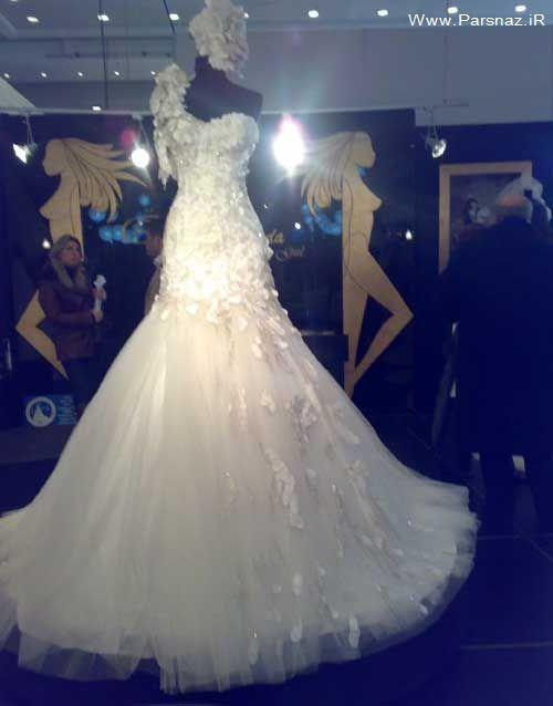 عکس هایی از مدل لباس های جدید عروس