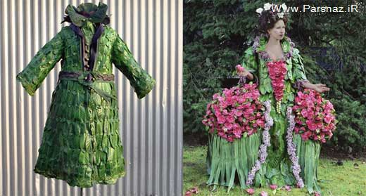 این لباس زنانه را می توان خورد + عکس
