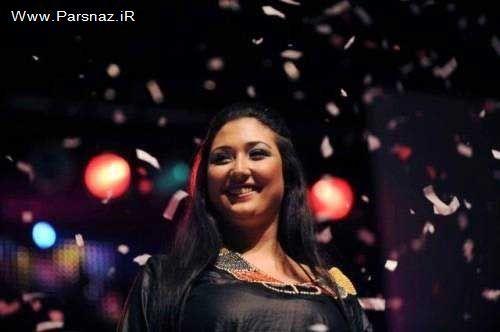 تصاویری از مراسم انتخاب زیباترین زن چاق در جهان