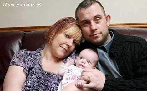 اتفاق باورنکردنی برای این مادر بعد از ۱۶ سقط جنین + عکس