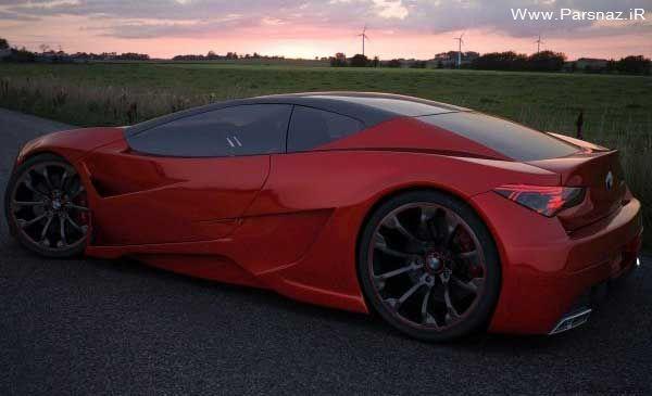 عکس هایی از زیباترین طراحی اتومبیل BMW توسط یک ایرانی