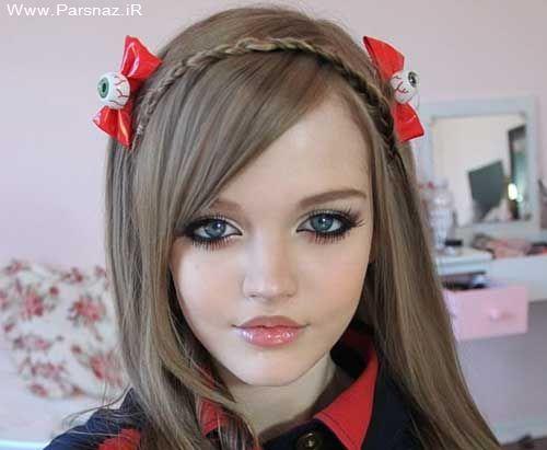 عکس های دیدنی از زندگی ۵ دختر عروسکی و واقعا زیبا