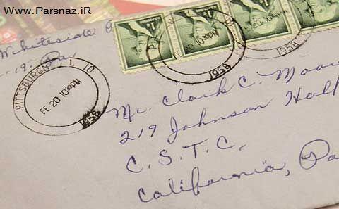 نامه عاشقانه که پس از 53 سال به دست صاحبش رسید!!