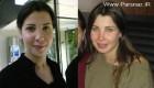 عکس های دیدنی از نانسی عجرم قبل و بعد از آرایش