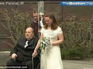 ازدواج غم انگیز و دردناک زوج جوان در بیمارستان + عکس