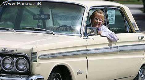 عشق و وفاداری عجیب یک زن آمریکایی به ماشینش + عکس