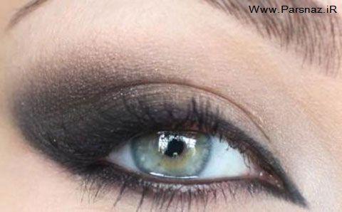 عکس های جدید از مدل های زیبا و جدید آرایش چشم