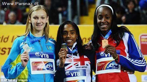 دختری برای 3 كشور محتلف مدال جهانی آورده است + عکس