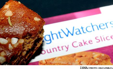 زنی که کیک مخصوص رژیم سفارش داد اما..(+عکس)