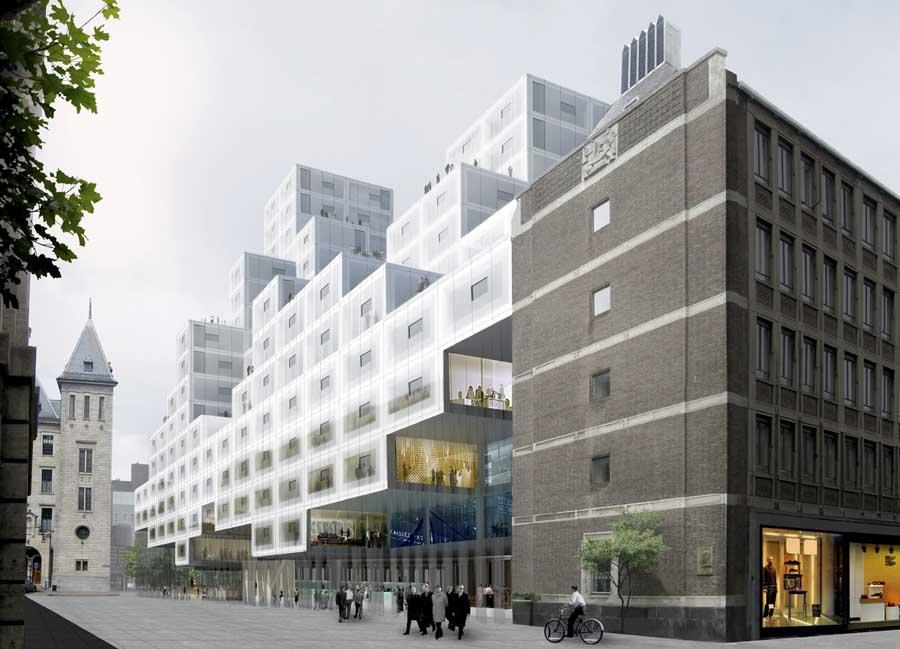 تصاویری از معماری های حرفه ای و زیبا در روتردام هلند