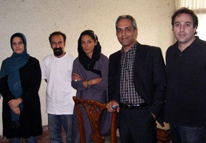 یادگاری از هدیه تهرانی و مهران مدیری (+عکس)