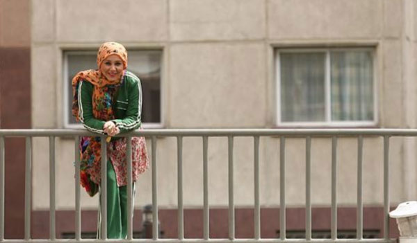 عکس از بهنوش بختیاری در خیابان های تهران