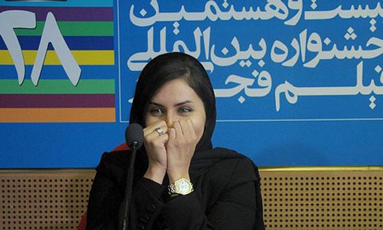 عکسهای الناز شاکردوست در جشنواره فجر