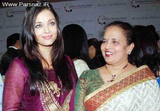 زیباترین زن دنیا پیشرفت خود را مدیون مادرش می داند