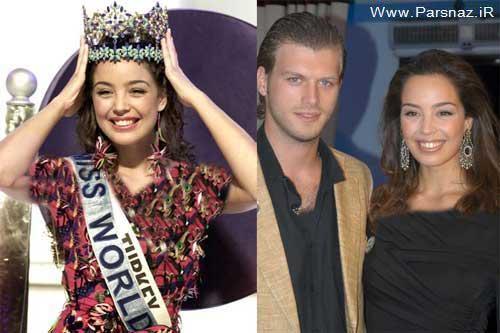 ازدواج مهند و ملکه زیبایی دنیا در کشور هلند + عکس