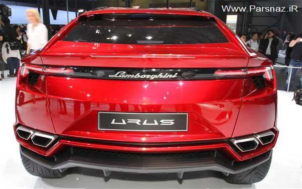www.parsnaz.ir - عکس هایی از جدیدترین ماشین لامبورگینی اوروس 2012