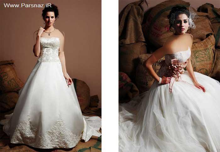 عکس هایی از جدیدترین مدل لباس های عروس