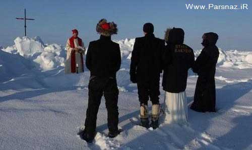 www.parsnaz.ir - عکسهای جالب از عجیب ترین ازدواج در سال 2012