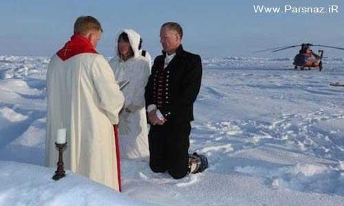عکسهای جالب از عجیب ترین ازدواج در سال 2012