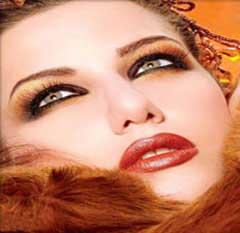 روشی برای درخشندگی و جذاب تر بودن آرایش صورت