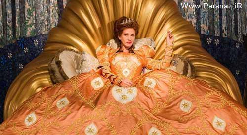 آنجلینا جولی و چهار ملکه بد جنس دیگر هالیوودی! + عکس