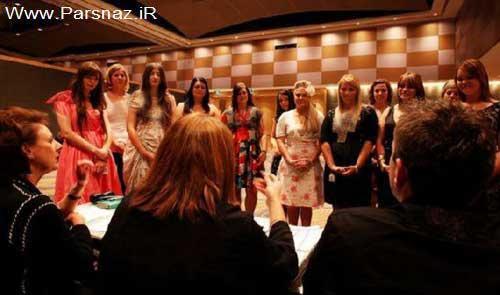 هجوم آوردن دختران سیدنی برای مدلینگ شدن + عکس