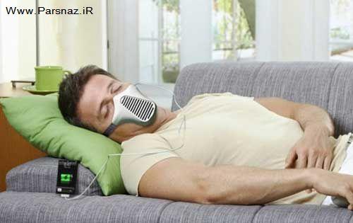 شارژ تلفن همراه خود را با نفس کشیدن پر کنید + عکس