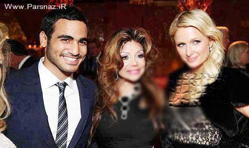 فاش شدن رابطه پسر امیر قطر با بازیگر فاسد هالیوود +عکس