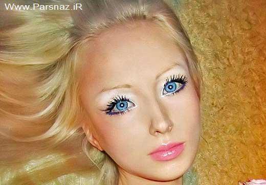 عکس های دیدنی دختری که خود را به یک عروسک تبدیل کرد