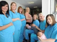 وقتی بارداری این پرستاران سوژه داغ خبری می شود +عکس