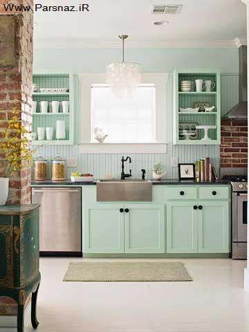 بهترین کار برای تغییر دکوراسیون آشپزخانه های قدیمی