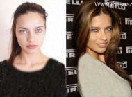 معروفترین مانکن برزیل با چهره متفاوت قبل و بعد از آرایش