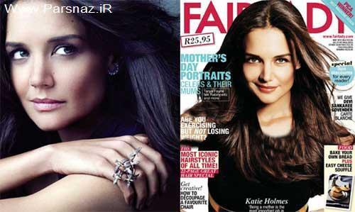 مصاحب جدید بازیگر زن مشهور هالیوود با مجله (fairlady)