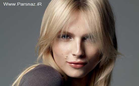 این مانکن بسیار زیبا که هم زن است و هم مرد! + عکس