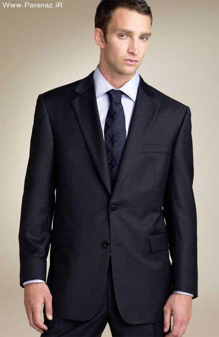 عکس هایی از مدل های جدید کت و شلوار مردانه