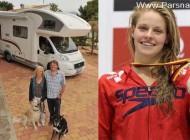 المپیک 2012 لندن و تصمیم والدین قهرمان شنای زنان آلمان