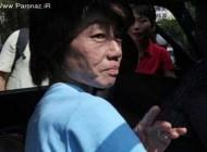 نجات معجزه آسای این خانم ژاپنی + عکس