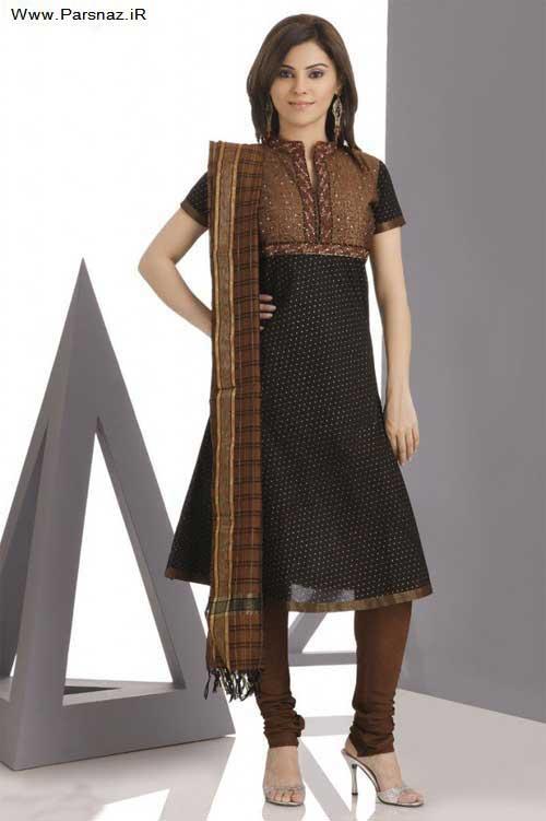 عکس هایی از مدل لباس های جدید هندی