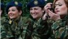 طنز بسیار جالب وقتی خانم ها سربازی بروند