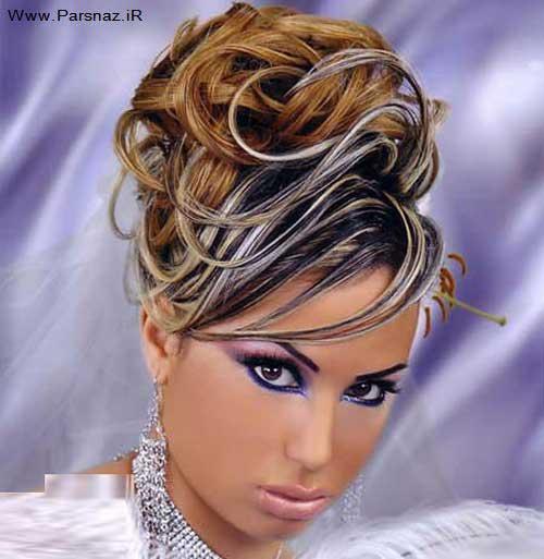 عکس هایی از جدیدترین مدل های آرایش عروس (عربی)