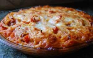 طرز درست کردن پای اسپاگتی!!