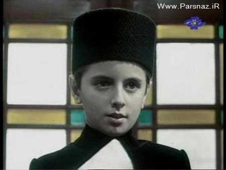 عکسهایی جالب از لیلا حاتمی وقتی که شبیه پسرها بود