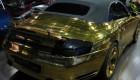 اتومبیل پورشه آب طلا کاری شده در کشور روسیه + عکس
