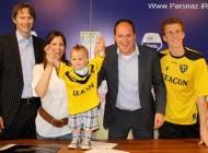 قرارداد باشگاه فوتبال هلند با کودکی 18 ماهه و با استعداد