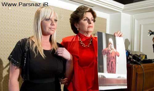 این خانم به علت بزرگی سینه هایش از کار اخراج شد + عکس